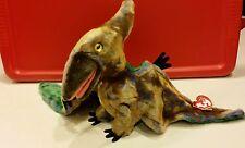 Ty Beanie Buddy SWOOP the Pterodactyl Dinosaur Bird ~ 2000, Retired & New