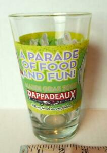 Pappadeaux-Seafood-Kitchen-Dancing-Fish-Mardi-Gras-Glass-Tumbler-2007