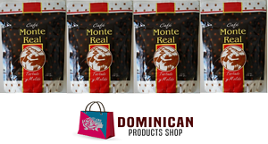 4-pound-CAFE-MONTE-REAL-ORGANIC-grounded-dominican-coffee-100-EUROPE-JAPAN