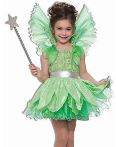 Image is loading Green-Sprite-Fairy-Princess-Tinkerbell-Fairytale-Girl- Halloween-  sc 1 st  eBay & Green Sprite Fairy Princess Tinkerbell Fairytale Girl Halloween ...