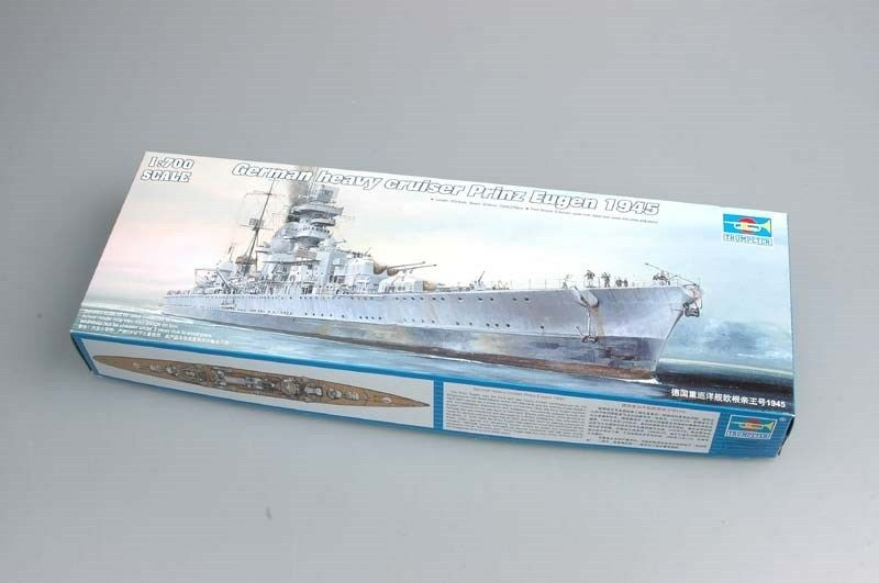 05767 Trumpeter 1 700 German Cruiser Prinz Eugen 1945 Model Battleship Warship