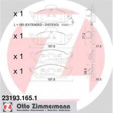 TEXTAR EPAD BREMSBELAG SATZ BREMSKLÖTZE HINTEN BMW 2050919