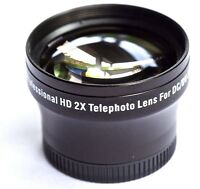 Pro Hd 2x Telephoto Lens Sanyo Vpc-fh1 Vpc-fh1a Vpc-th1