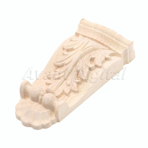 Wood Carved Patterns Corbels Decal Corner Applique Woodcarving Furniture Decor