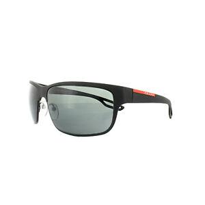 a94474eeaa Image is loading Prada-Sport-Sunglasses-PS50QS-DG01A1-Rubber-Matte-Black-