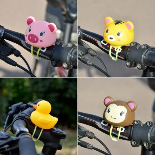 Bell Light Bike Handlebar Air Horn Rubber Kids Adorable Design Bicycle Accessory