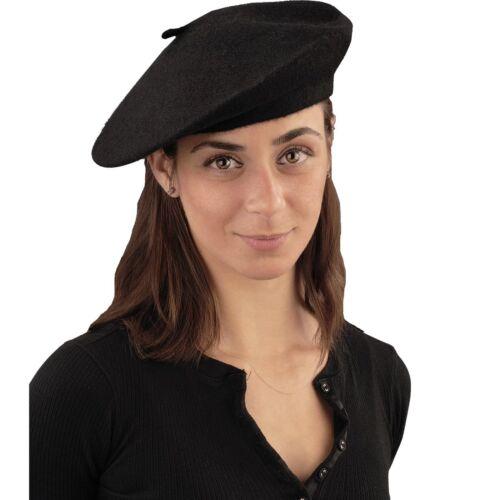 Black Beret Adult Costume Accessory Beatnik Scene