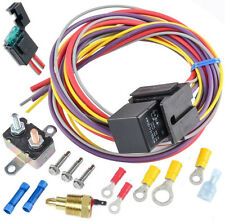 Radiator engine fan thermostat temperature switch 12v Relay Kit