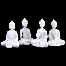 Mini White Thai Buddha. Buddhist / Buddhism / Meditation. New.