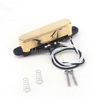 Telecaster Neck Pick Up : musiclily pro gold 50mm single coil neck pickup for telecaster tele tl guitar 700115958141 ebay ~ Vivirlamusica.com Haus und Dekorationen
