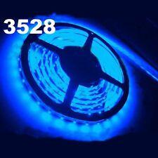 Striscia A Led Colore BLU 5 Metri 300 Smd 3528 Bobina Led Strip Adesiva hsb