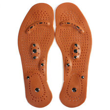 Clean Health Foot Care Magnetic Therapy Massage Insole Shoe Boot Thenar Pad