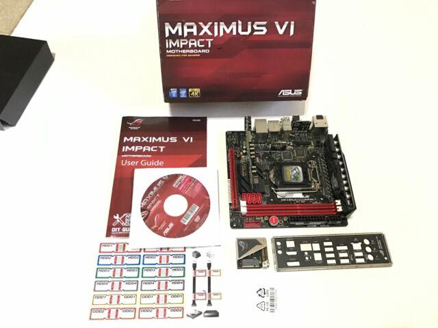 ASUS MAXIMUS VI IMPACT DRIVER FOR PC