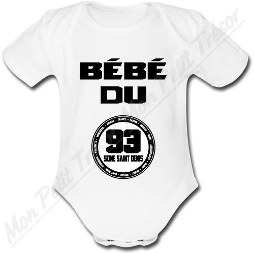 Bébé du 93 SEINE SAINT DENIS Body Bébé