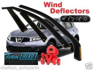 NISSAN-QASHQAI-5D-2007-2014-Wind-deflectors-4-pc-HEKO-24257
