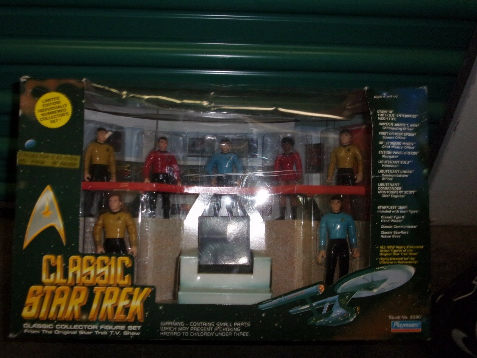 Classic Star Trek TV Collection Figures - 1993 Playmates