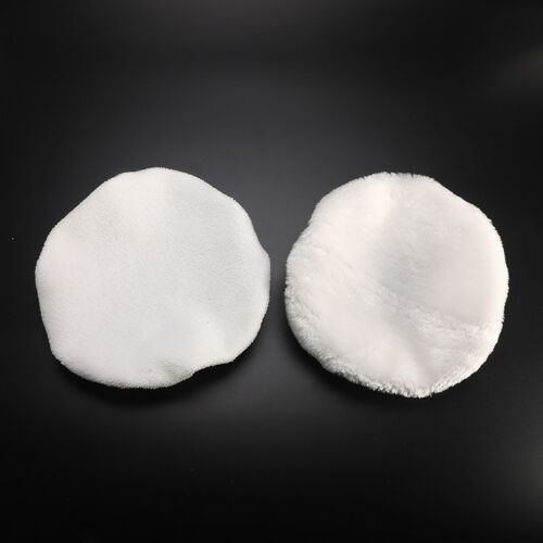 2Pcs Soft Wool Auto Car Polishing Bonnet Buffer Pad For 9 10inch Car Polisher
