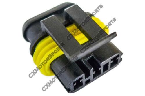 Crank Cam Position Sensor Connector Wiring Plug Terminal for LS1 LSx Engine 2pcs