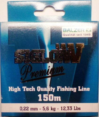 BALZER Siglon V Premium High Tech Quality Fishing Line 150m