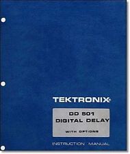 Tektronix Dd 501 Instruction Manual With 11x17 Foldouts Amp Protective Covers