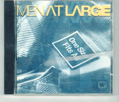 1 of 1 - (HJ533) Men At Large, One Size Fits All - 1994 CD