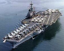 USS RANGER 8X10 PHOTO NAVY US USA MILITARY CG-61 SHIP FORRESTAL CLASS CARRIER