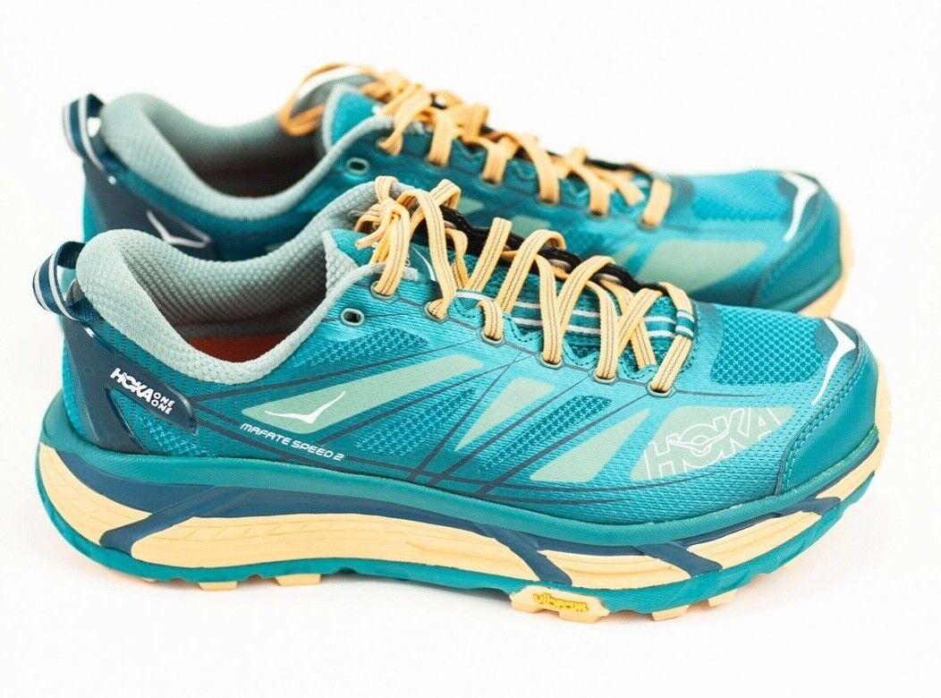 Hoka Hoka Hoka Men's Mafate Speed 2 Running shoes color Harbour bluee Oil bluee Size 9.5 01e6d6