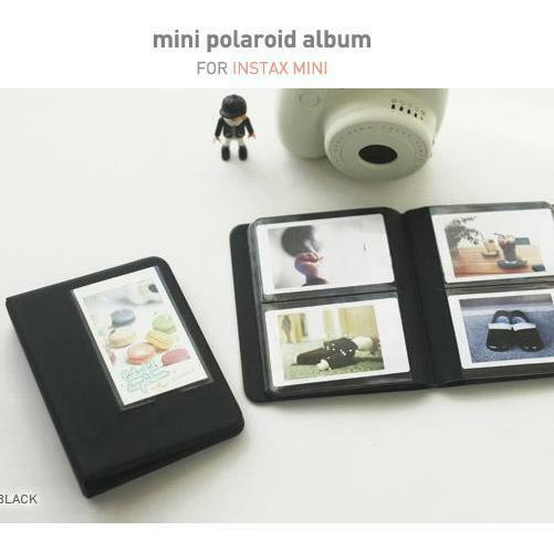 Fujifilm INSTAX MINI Photo Album BLACK for Fuji 25i 7s 8 NEO 90 NEW