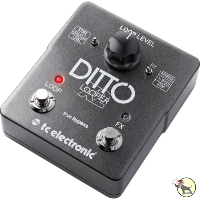 tc electronic ditto x2 looper guitar effect pedal for sale online ebay. Black Bedroom Furniture Sets. Home Design Ideas