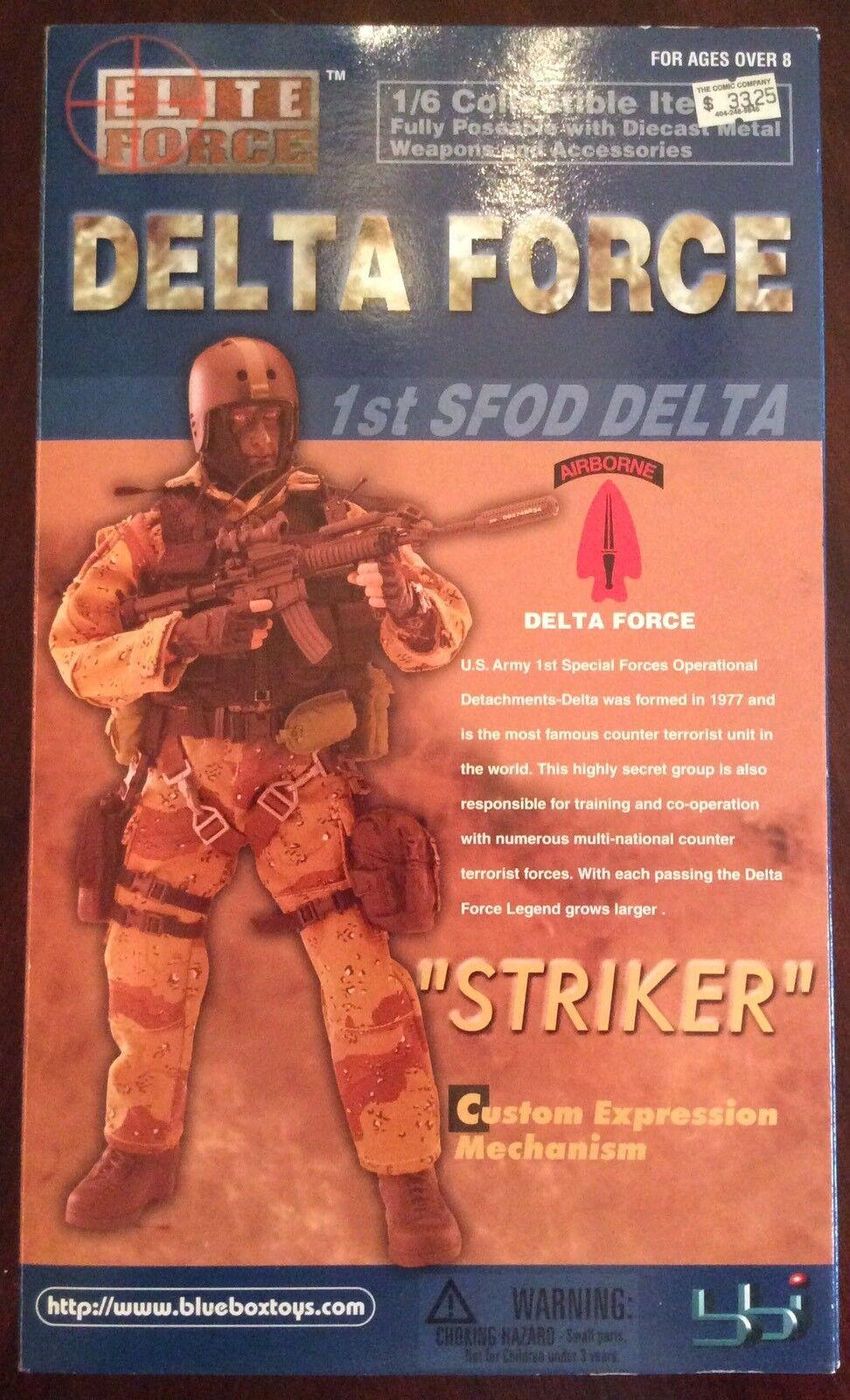 Bbi elite force 1   6 - skala 12  1. sfod delta - force - stürmer action - figur