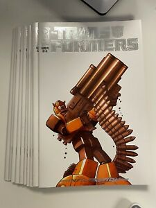 IDW TRANSFORMERS : INFILTRATION #4 RI-A COVER : 10-COPY LOT : NM CONDITION