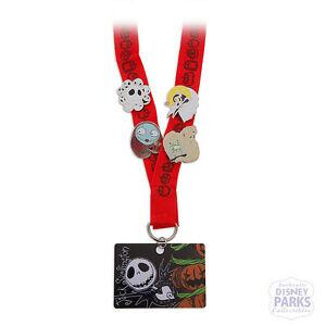2021 Nightmare Before Christmas Trading Pin Disney Parks Nightmare Before Christmas Starter Set Pin Lanyard Trading Pins Ebay