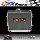 3 Rows Aluminum Radiator for TOYOTA HILUX RN85 RN90 22R 2.0L Petrol Manual 88-97