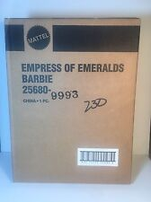 Barbie Empress of Emeralds Royal Jewels Collection Ltd Ed 1st in Series New NRFB