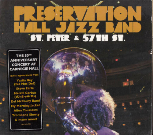 1 of 1 - PRESERVATION HALL JAZZ BAND St. Peter & 57th St. CD - Digipak