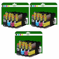 12 Ink Cartridges for Brother DCP-J4120DW MFC-J4420DW non-OEM LC223