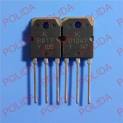 10Pcs 2SD1047 D1047 Pnp Transistor TO-3P US Stock u