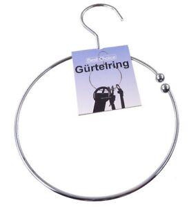 GÜRTELRING GÜRTELHALTER Krawattenring Kettenring Krawattenhalter Gürtelbügel