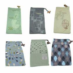 Fossil Brillensäckchen Etui Schutzhülle 6 Modelle zur Auswahl