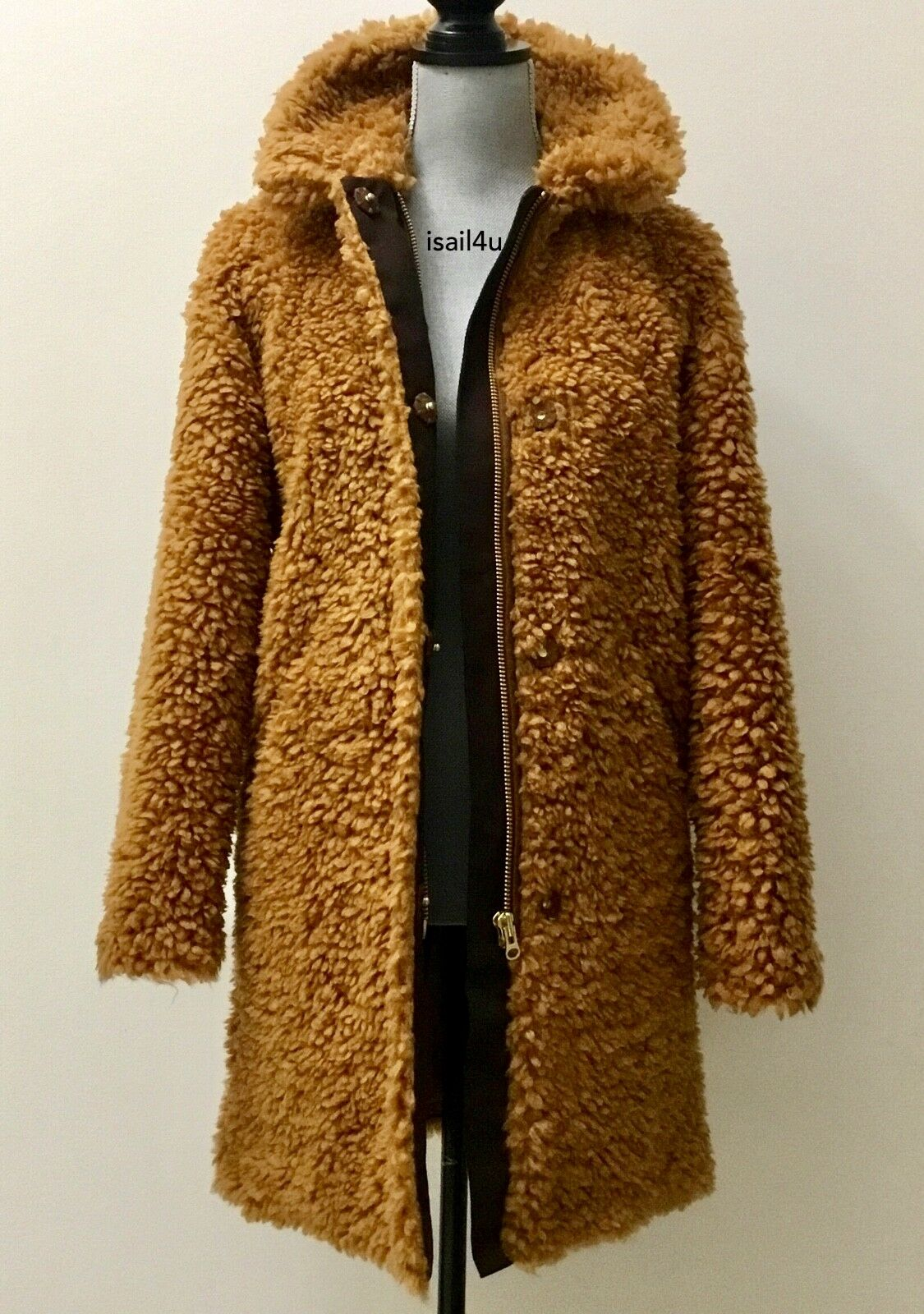 J.Crew Textured Teddy Coat NWT US Women's Size  XS, S, M, L, XL