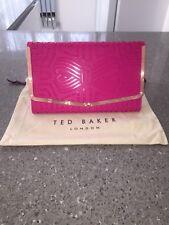 d6829eaeeff65 item 2 Ted Baker Bree Cross Body   Clutch Bag Laser Cut Hot Pink New Season  -Ted Baker Bree Cross Body   Clutch Bag Laser Cut Hot Pink New Season