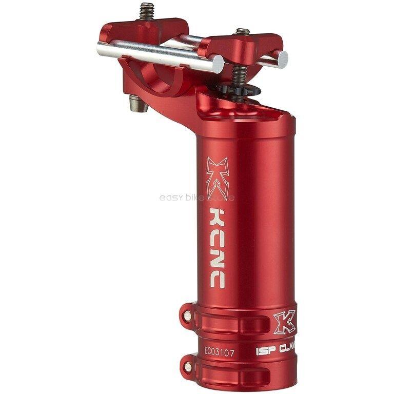 Kcrc al7075 ISP Majestic clips 34,9 mm altura 100 mm desviación 25 mm-rojo