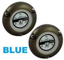 2  Lumitec Marine Boat SeaBlaze MINI Underwater Light LED BLUE  LMT 101246