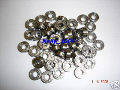 Slot-Racing etc. POWER  10Stk Keramik-Kugellager 3x6x2,5mm OFFEN mit Bund f