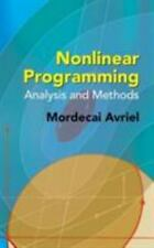 Nonlinear Programming: Analysis and Methods-ExLibrary