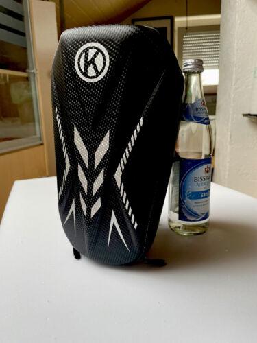 Coole Bike Tasche Carbon HardCase 3,5 L Universel Fahrrad Roller Kinderwagen Neu