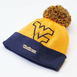 28) West Virginia Mountaineers Jersey Knit Winter Hat Cap Adult MEN ... c4a7f87fee59