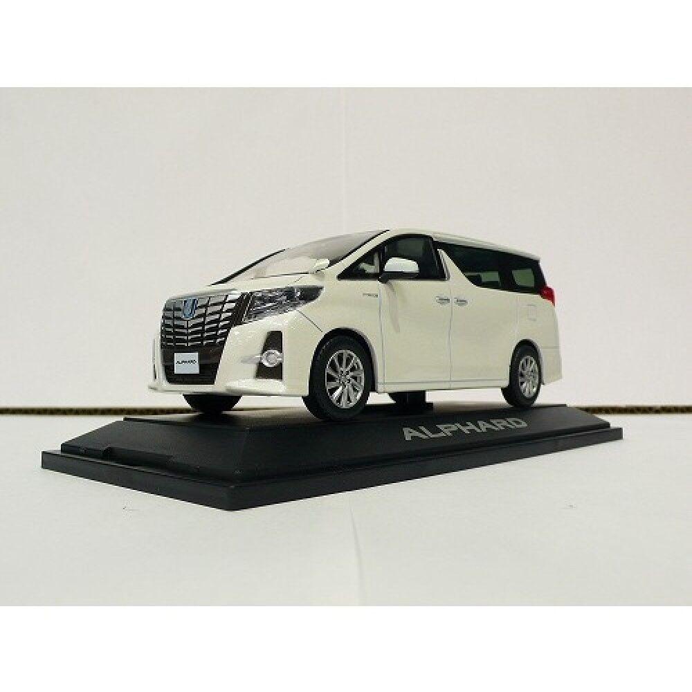 Toyota alphard 2015 1   30 skala druckguss minicar Weiß pearl neue aus japan