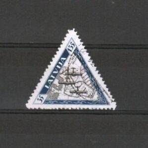 LETTONIE-Yvert-Poste-Aerienne-n-32-oblitere