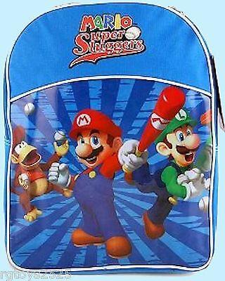 NEW Super Mario Bros Super Bowser Large Backpack 42935